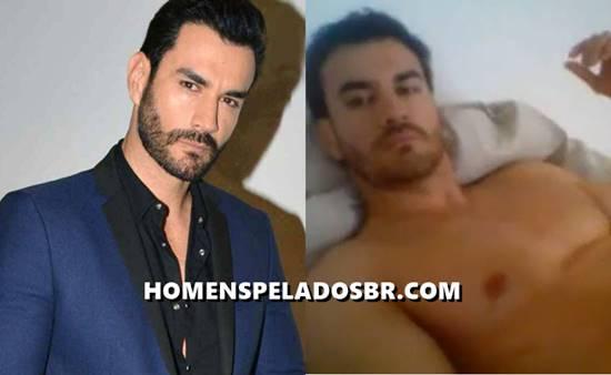 Vídeo do ator mexicano David Zepeda se masturbando e gozando - Ator das novelas exibidas no SBT