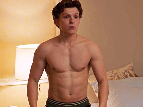 Tom Holland Nude