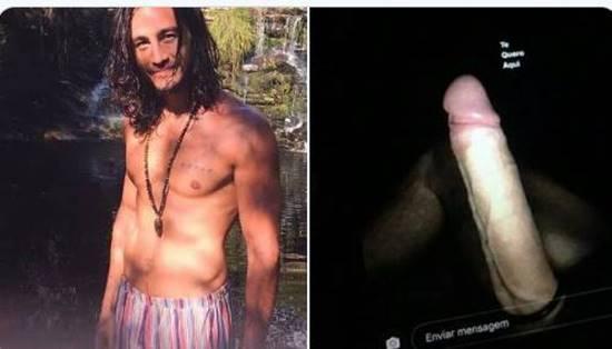 Vaza na internet novas fotos de Tiago Iorc pelado e de pau duro