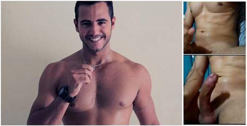 Vídeo de Ex-BBB Matheus Lisboa se masturbando