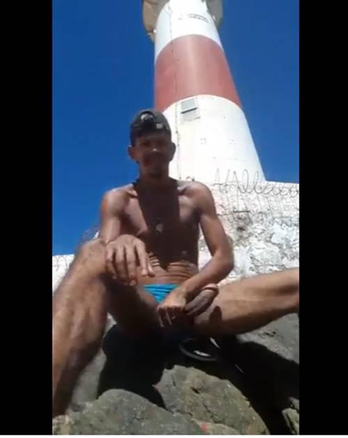 Vídeo soloboy de Morador de rua big dotado