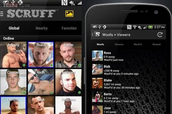 Scruff - Aplicativo gay de namoro e sexo