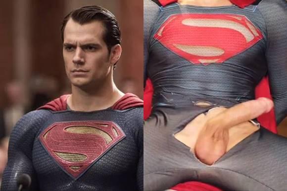 Masturbando o Super Man - Masturbation Super Man