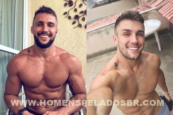 Nudes de Arthur Picoli do BBB21 de pau duro