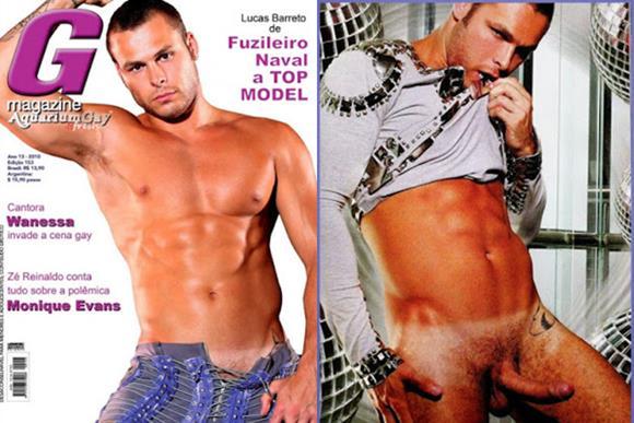 Lucas BLucas Barreto nu na revista gay G Magazinearreto nu na revista gay G Magazine