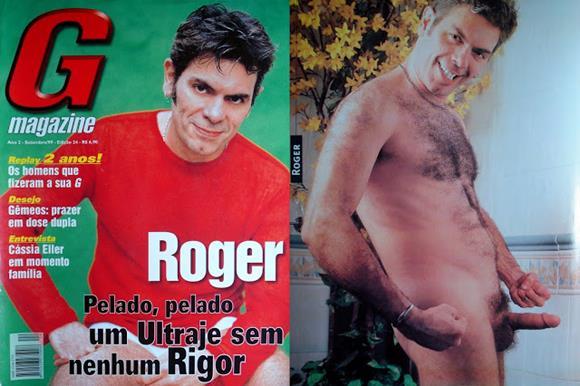 Fotos de Roger pelado na G Magazine
