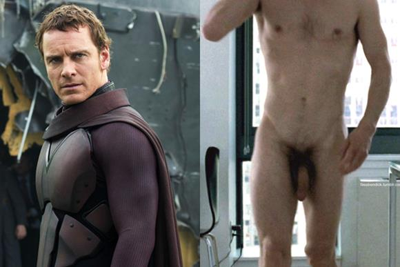 Vídeo do ator Michael Fassbender, Magneto de X-Men pelado