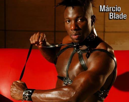 """Marcio Blade pelado na G Magazine, o negão de """"Legendários"""""""