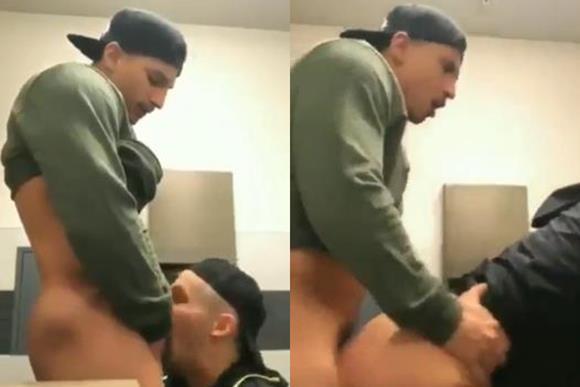 Sexo gay com o amigo hétero da faculdade