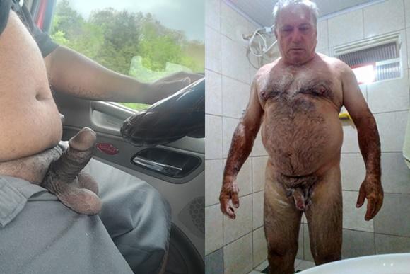 40 Fotos de homens caminhoneiros pelados