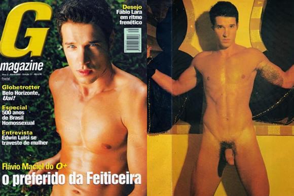 Flávio Maciel pelado na G Magazine