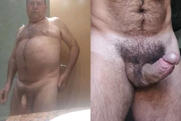 Nudes caseiros de machos velhos exibindo seus pênis