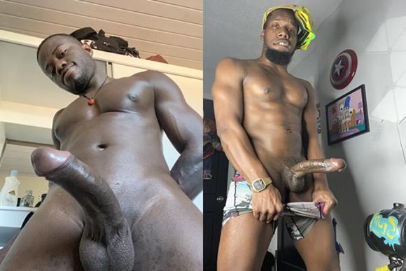 Nudes de homens negros roludos nus